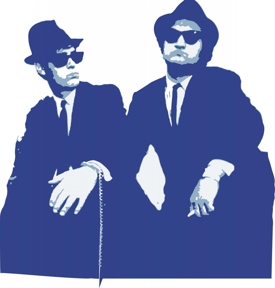 big blues brothers party night